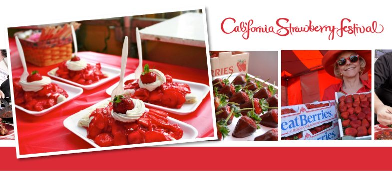 California Strawberry Festival 加州草莓節 (5/21 – 5/22)