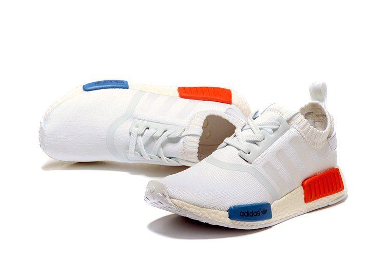 Adidas NMD R1 Primeknit OG White3