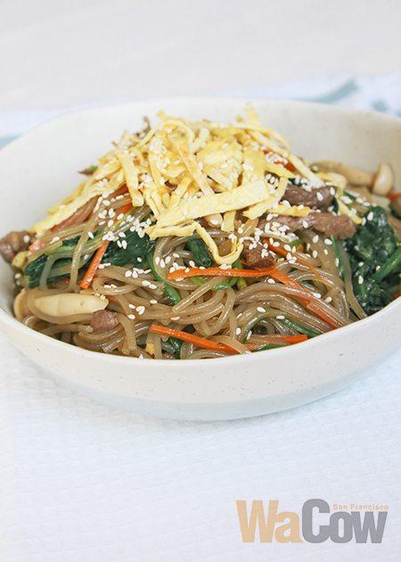 korean stir-fried sweet potato noodles 2 copy
