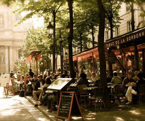 Paris cafe 1 etsy