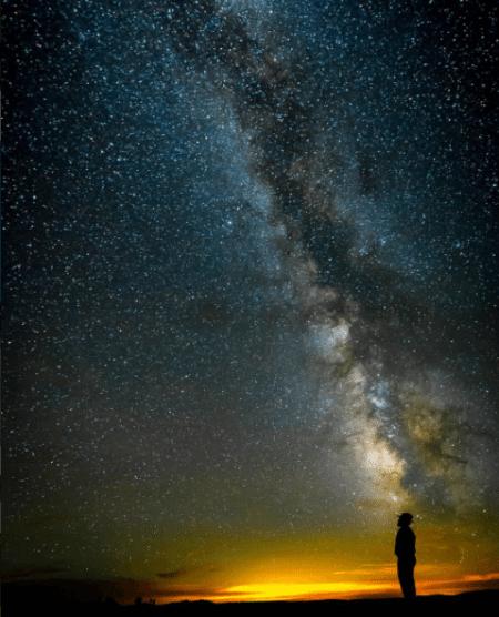 The sky & stars