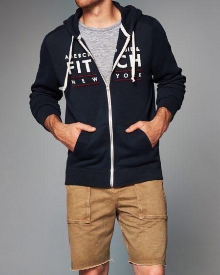 a&f man zip hoodie