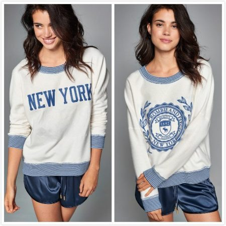 a&f woman pullover