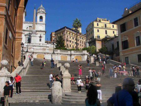 Rom_Spanish steps