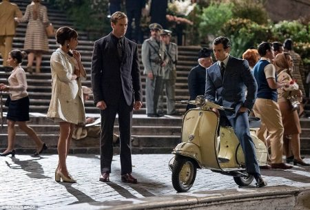 Scene from The Man from U.N.C.L.E.