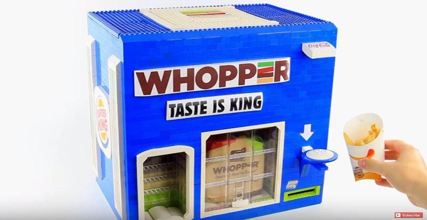 Whopper dispenser 1