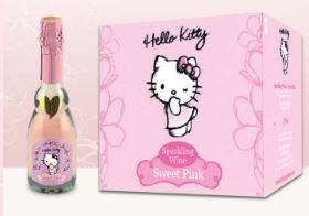 Hello Kitty wine 5