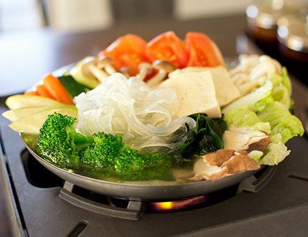 Organic Veggie Hot Soup