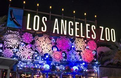 LA Zoo Lights 1