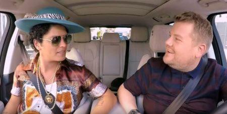 Bruno Mars Carpool Karaoke 1 The Late Late Show