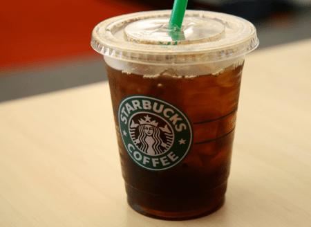 Starbucks iced coffee 1 eat this