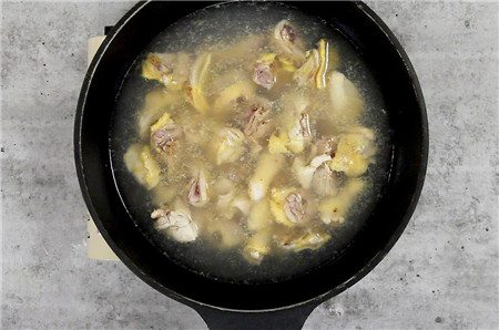 Chicken with Black sesame oil pic05