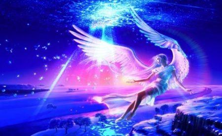 Flying Angel 1 Hivewallpaper