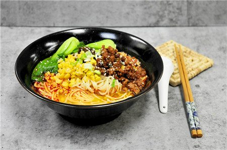 Noodles with Pork and Yellow Peas09