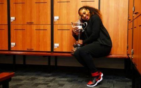 Serena Williams jordan 1 Tennis Channel