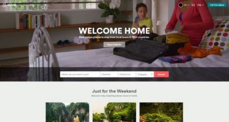 Airbnb landing page 1
