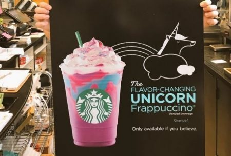 Starbucks Unicorn Drink 1 Thrillist