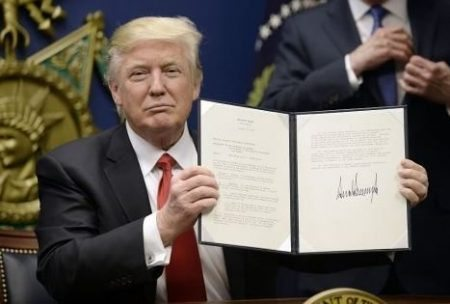 Trump signing executive orders 1 business insider