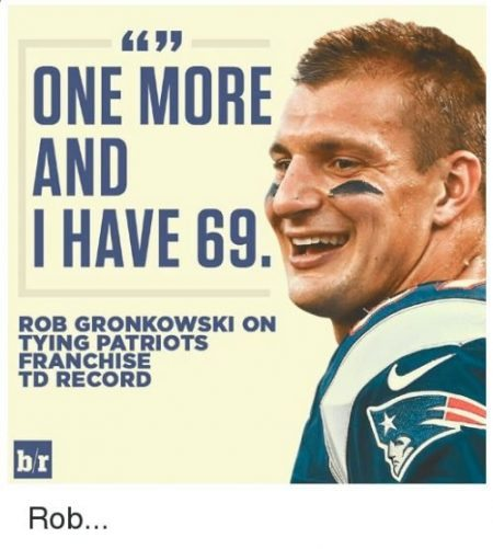 gronk 4 on sizzle