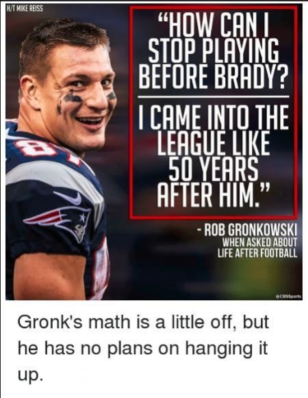 gronk 5 on sizzle