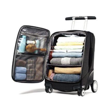 organized luggage 2 pinterest