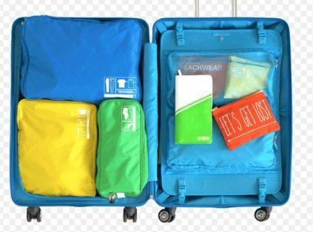 organized luggage 5 flight 001
