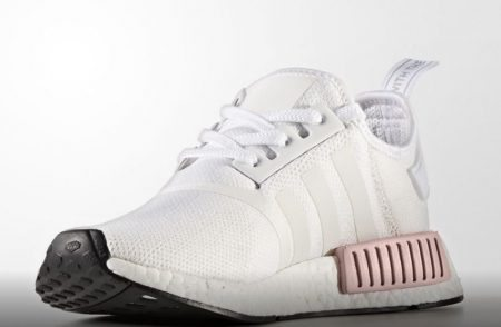 White Pink NMD 2 Sole Collector