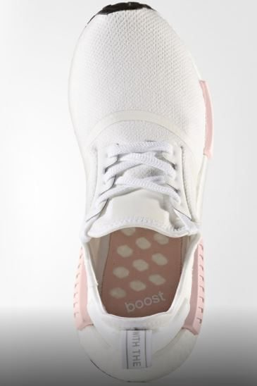 White Pink NMD 4 Sole Collector