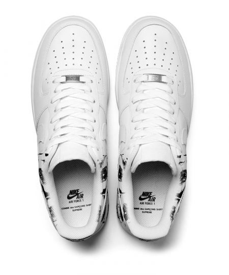 supreme-cdg-nike-air-force-1-low-top 1 Sole Collector