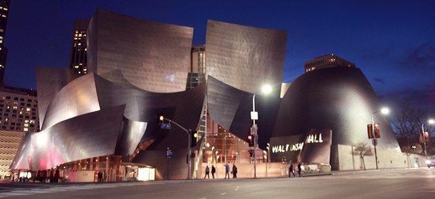 walt disney concert hall banner