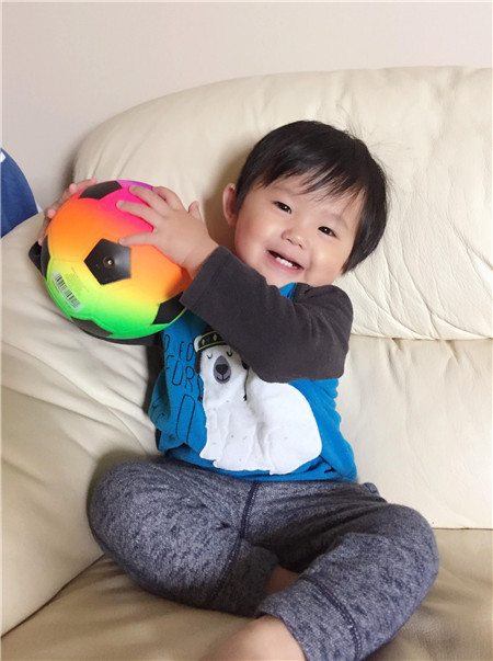 Baby Aaron - Want to play catch with me_