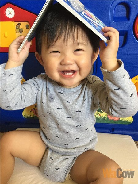 Baby Aaron - 我的笑容讓你融化了嗎?