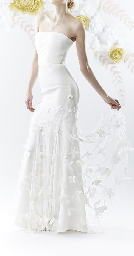 Wedding dress by Olwen Bourke via olwenbourke.com