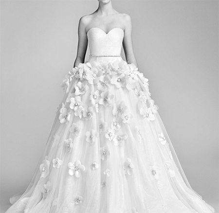 Wedding dress by Viktor & Rolf via viktor-rolf.com
