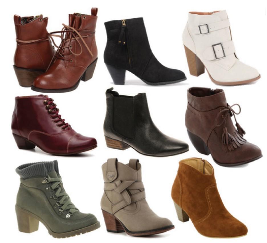 Модная осенние обувь