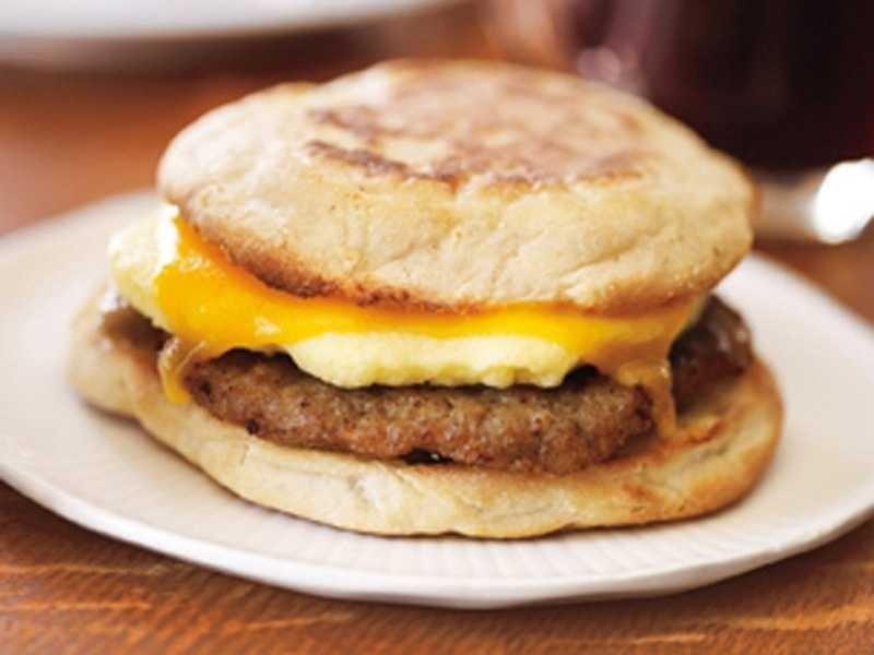 Sausage & Cheddar Classic Breakfast Sandwich
