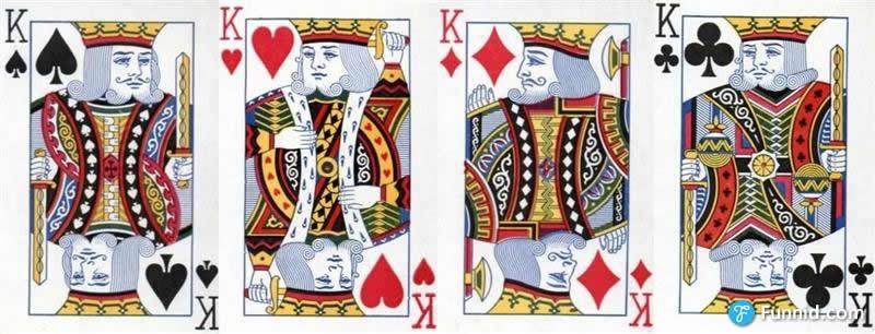 冷知识大揭密―玩了那么多年有没有想过扑克牌上的人