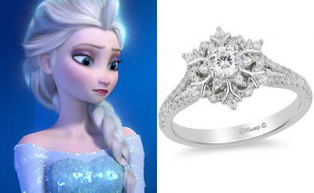 超美的迪士尼公主訂婚鑽戒 你是哪一位公主? Wacowla 哇靠 洛杉矶 Los Angeles